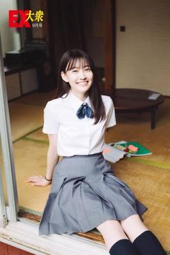 乃木坂46松尾美佑の本誌未掲載カット4枚を大公開!【EX大衆9月号】の画像