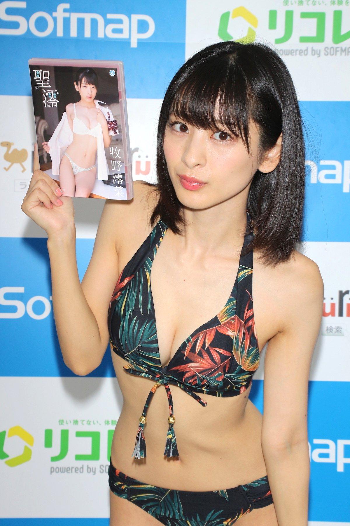 牧野澪菜「144cmのセクシーボディ」スクール水着でやらかしちゃった【画像61枚】の画像054