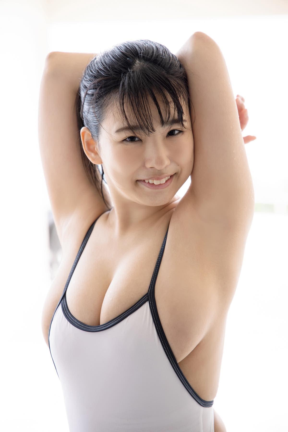 白壁爽子「ボディがはちきれそう!」萌系現役声優のブルンブルンHカップの画像001