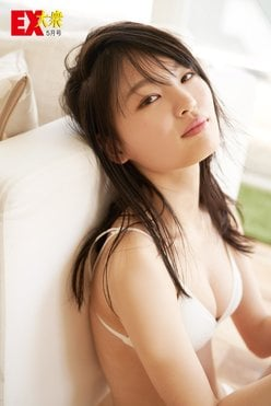 NMB48新澤菜央の本誌未掲載カット4枚を大公開!【EX大衆5月号】