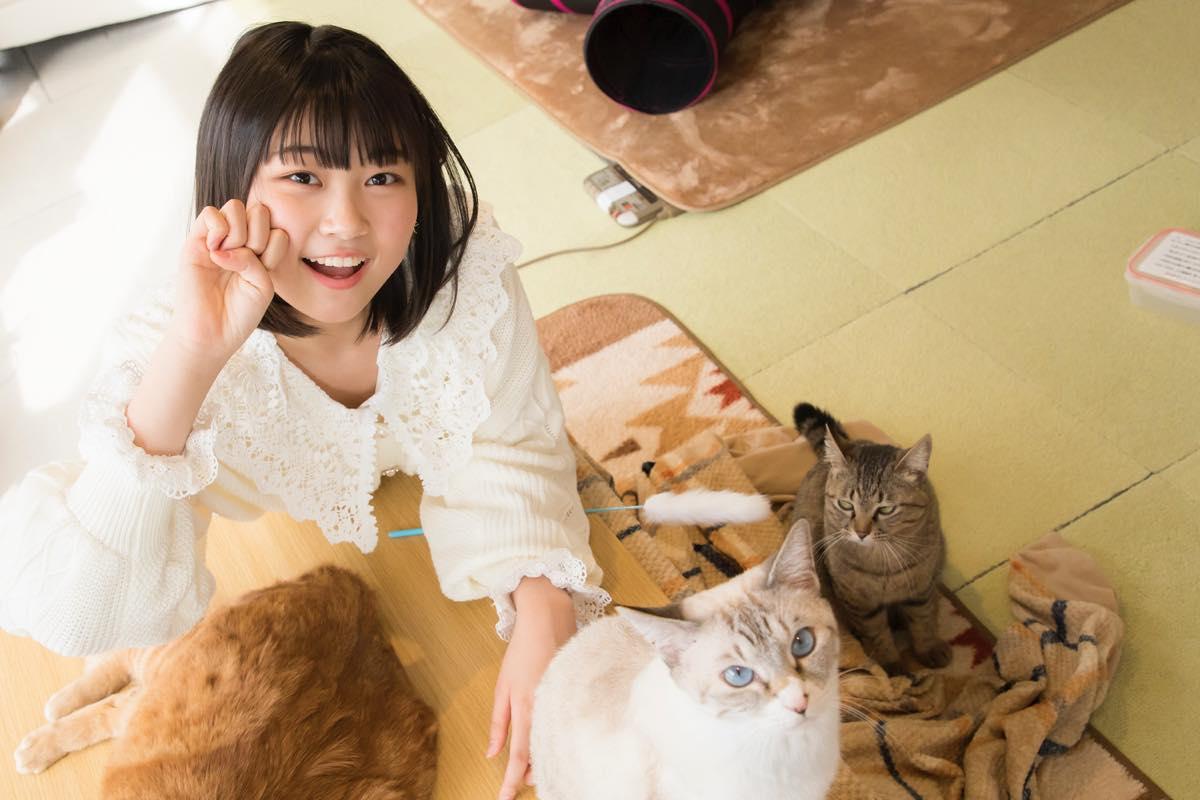小澤愛実「猫に愛されることはできるのか」【写真48枚】【連載】ラストアイドルのすっぴん!vol.19の画像046