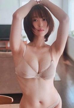 """G乳""忍野さら「日本一のボンキュッボン美女」くびれのラインが芸術的【画像2枚】の画像"