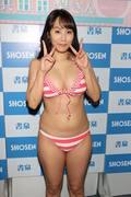 浜田由梨のグラビア水着ビキニ画像020