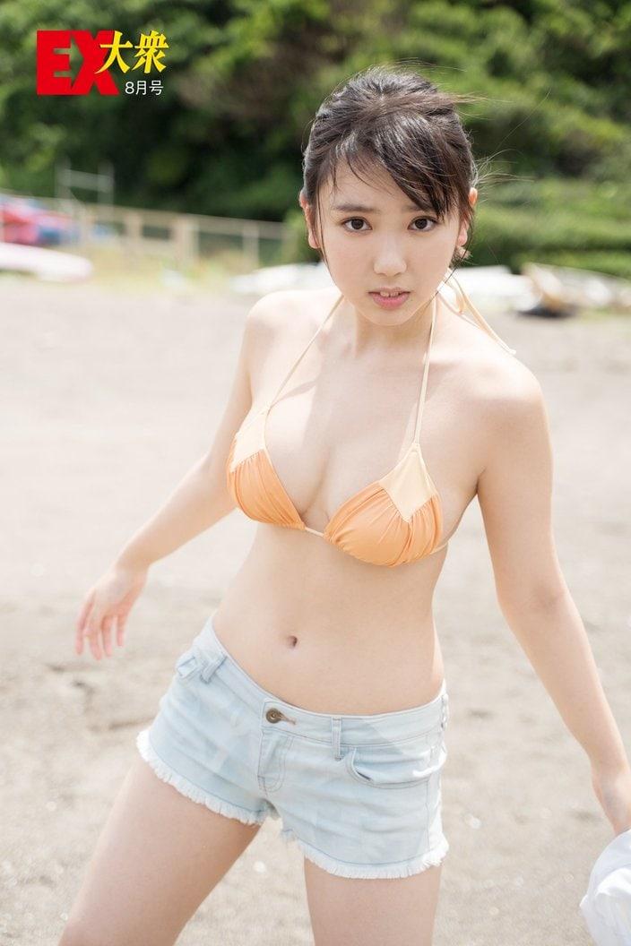 dela沢口愛華の本誌未掲載カット7枚を大公開!【EX大衆8月号】の画像