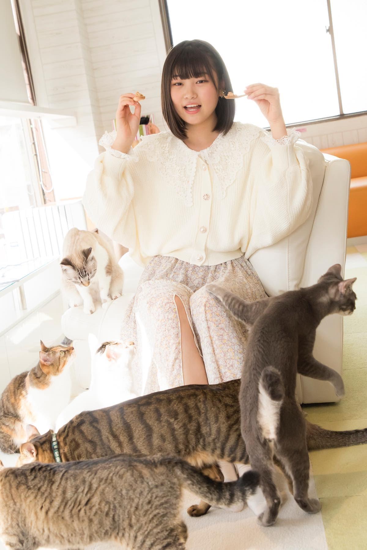小澤愛実「猫に愛されることはできるのか」【写真48枚】【連載】ラストアイドルのすっぴん!vol.19の画像032