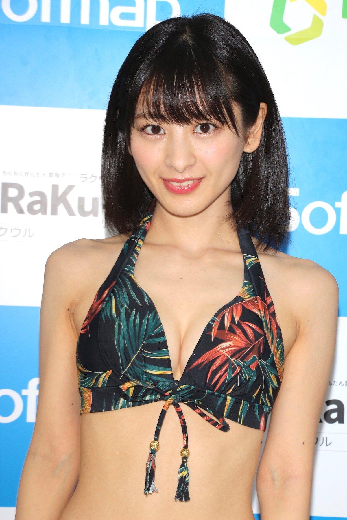 牧野澪菜「144cmのセクシーボディ」スクール水着でやらかしちゃった【画像61枚】の画像016