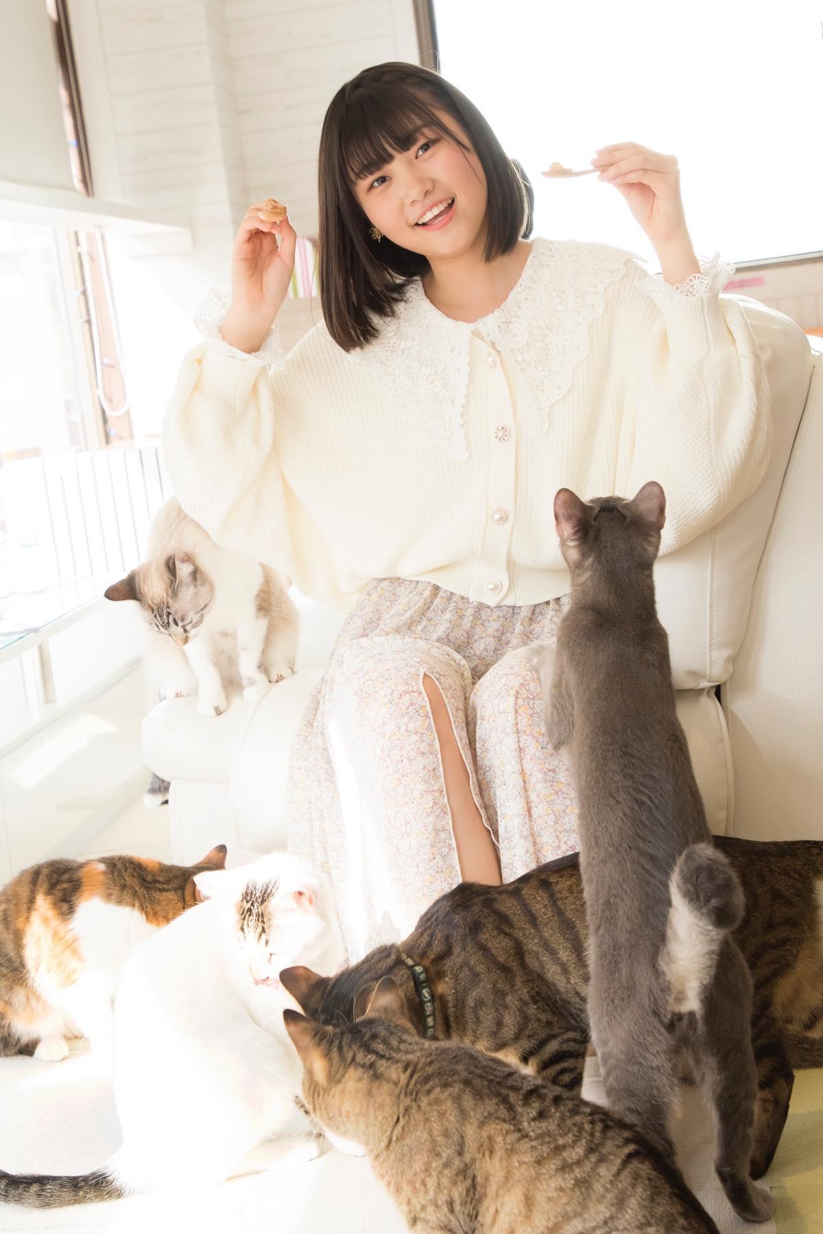 小澤愛実「猫に愛されることはできるのか」【写真48枚】【連載】ラストアイドルのすっぴん!vol.19の画像031