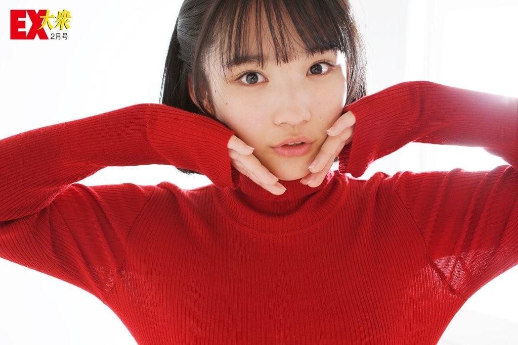 AKB48矢作萌夏の本誌未掲載カット8枚を大公開!【EX大衆2月号】の画像006