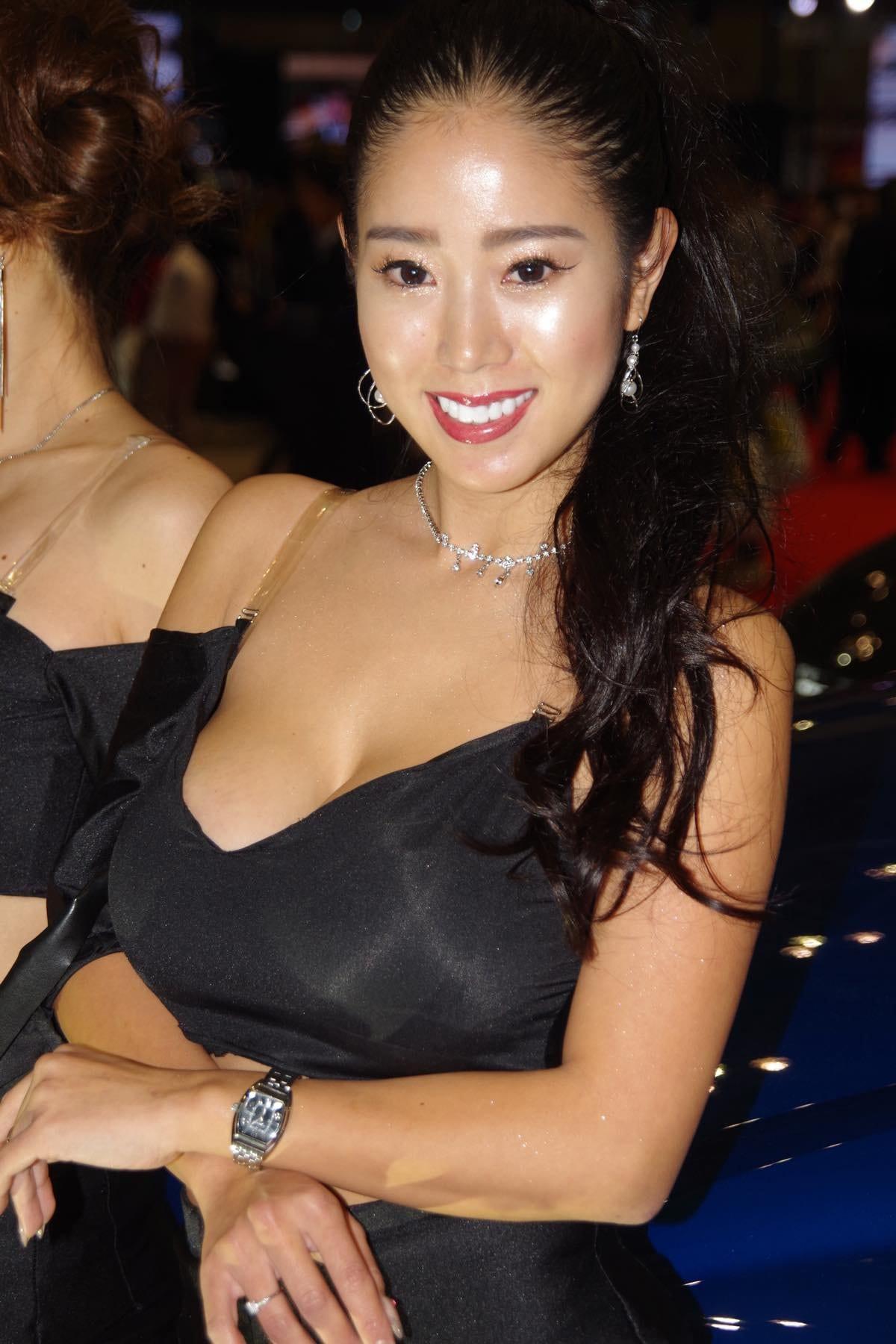 【青奈/板垣未来】東京オートサロン2020を彩った美女たち#7【写真9枚】の画像003