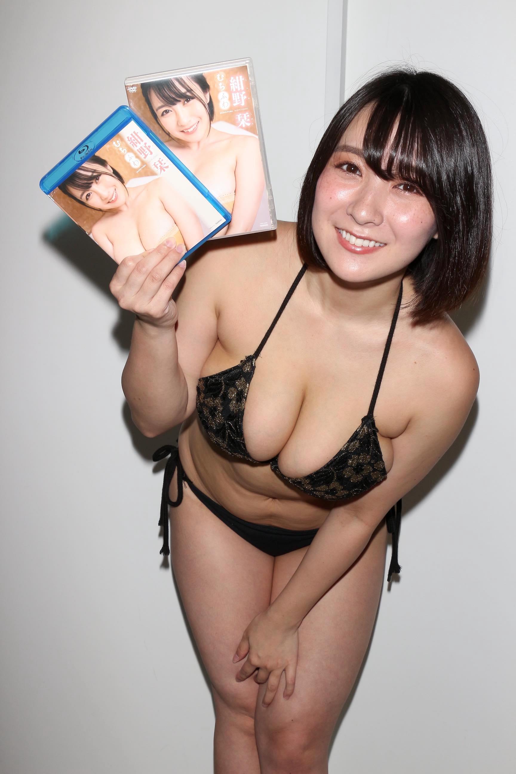 紺野栞「胸が成長しっぱなし」Hカップがキツくなっちゃった【写真28枚】の画像026