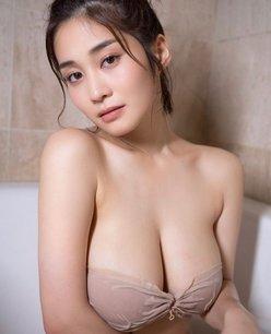 """""""H乳""""高橋凛「おっきな濡れ乳がこぼれそう…」ホットになれる妖艶入浴ショットの画像"""