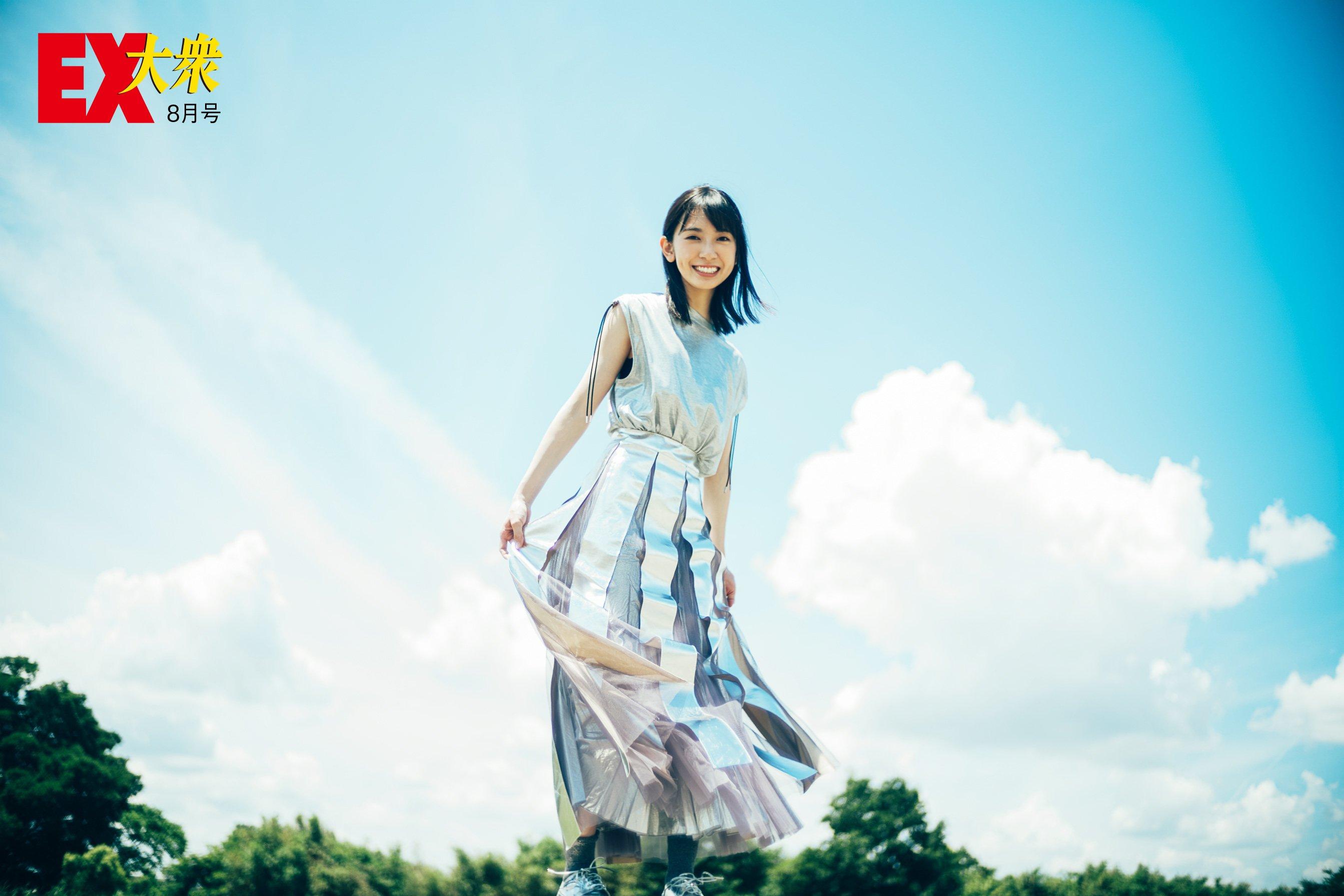 日向坂46金村美玖の本誌未掲載カット6枚を大公開!【EX大衆8月号】の画像003