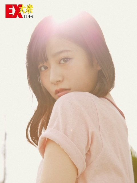 【未公開ショット】HKT48・月足天音さん編<EX大衆11月号>の画像005