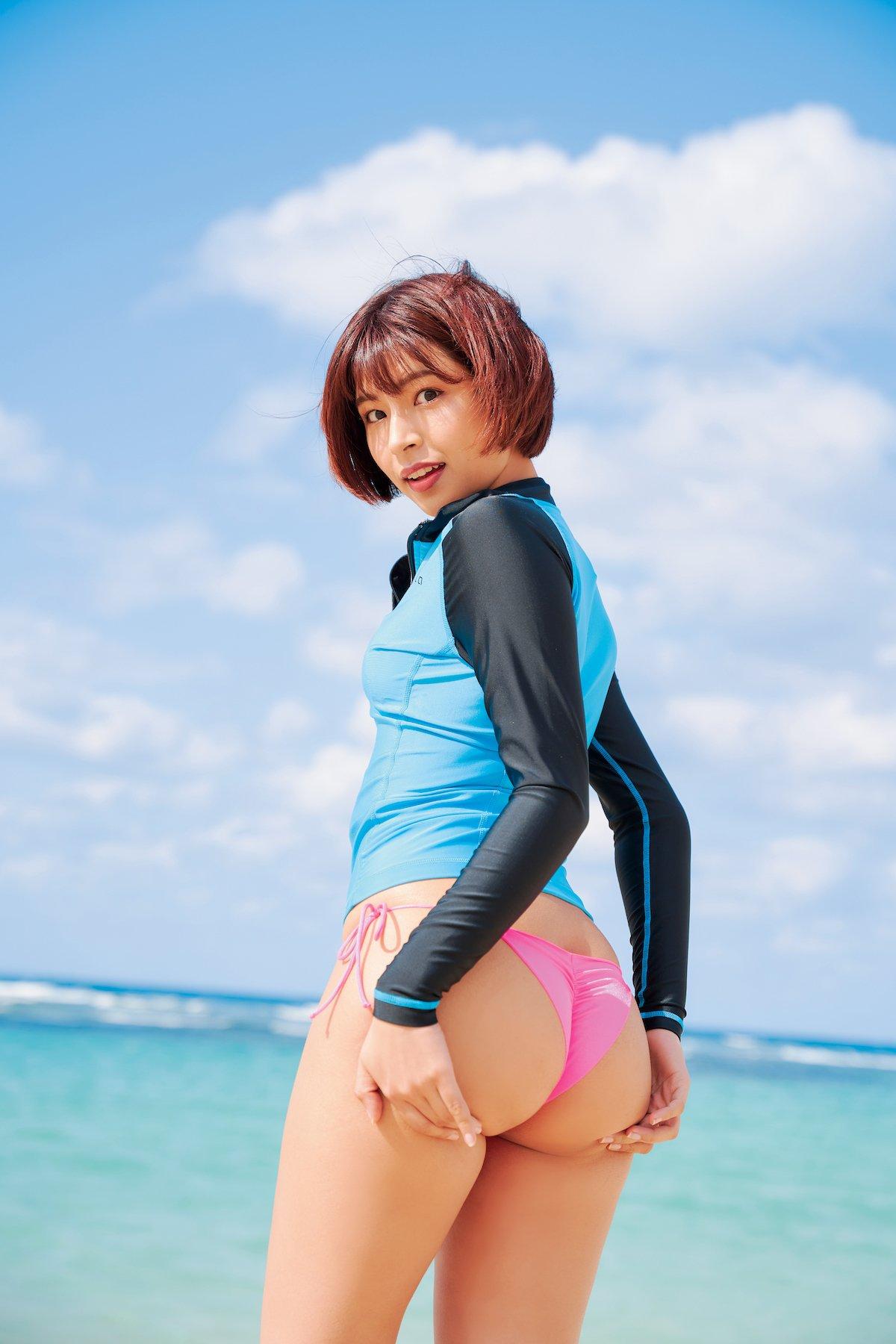 藤井マリー「ドえらいデカ尻」魅惑のメートル級ヒップは必見!【画像9枚】の画像008