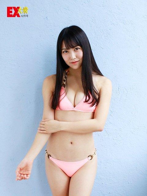【本誌未公開】NMB48白間美瑠さん&吉田朱里さん編Vol.1<EX大衆12月号>の画像003