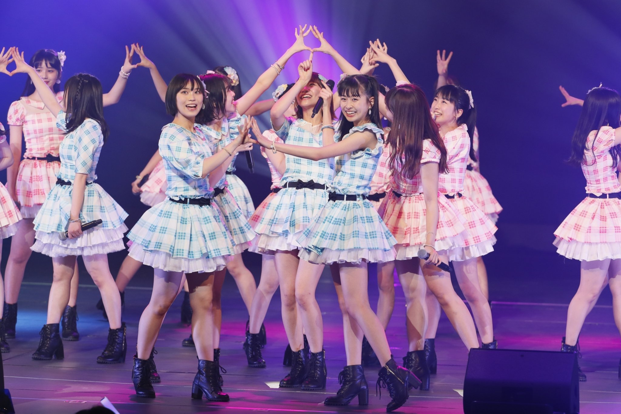 HKT48の若手メンバー、〈F24〉の公演が満員御礼!【写真20枚】の画像002