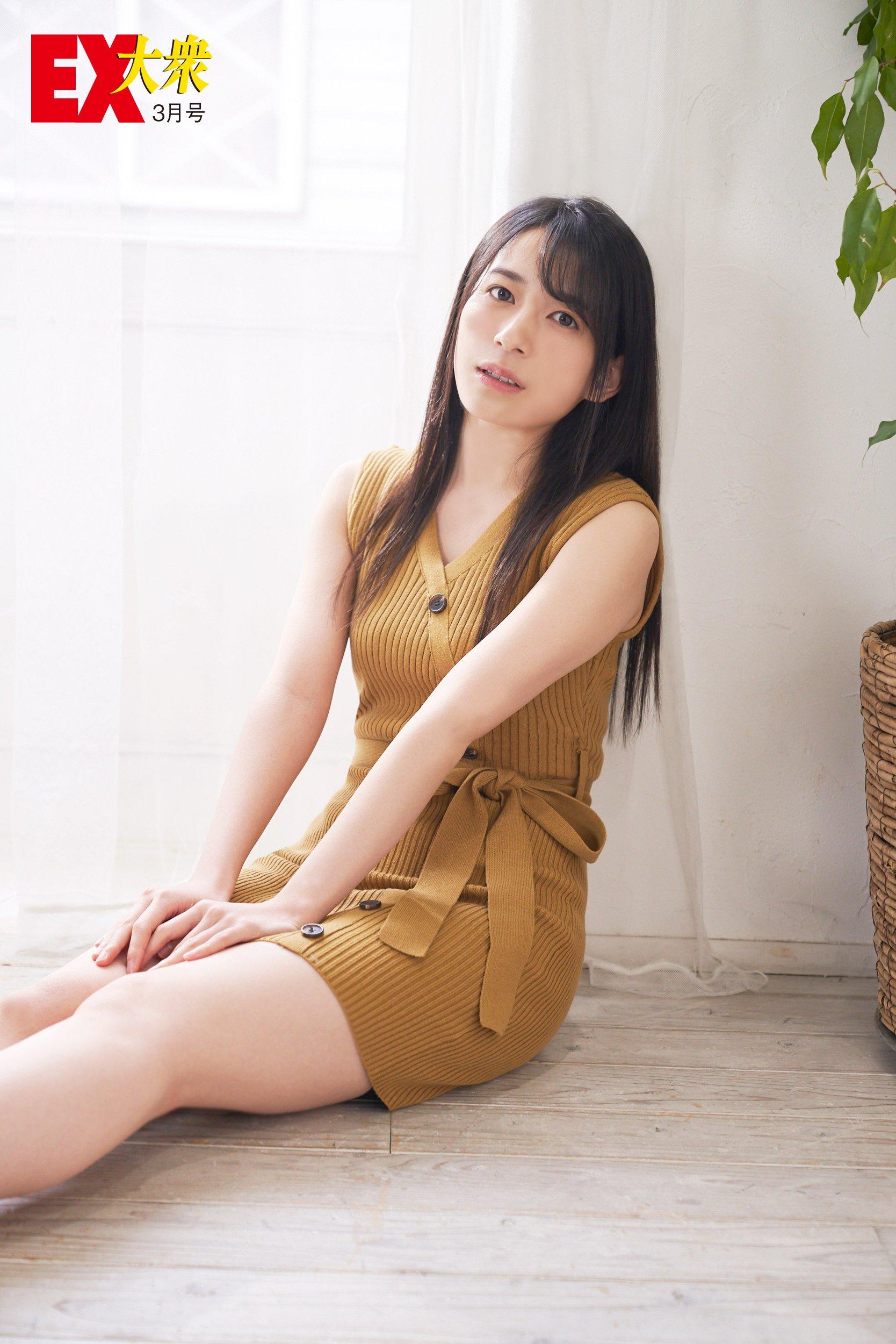 AKB48佐々木優佳里と福岡聖菜の本誌未掲載カット4