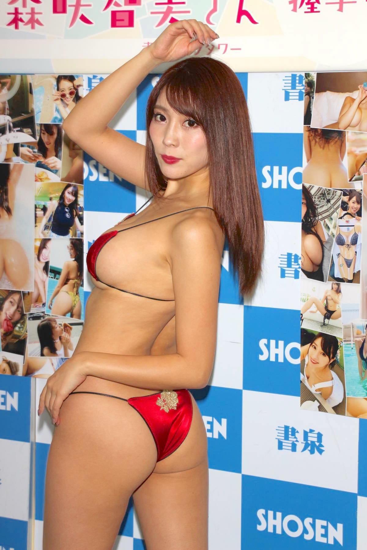森咲智美の水着画像12