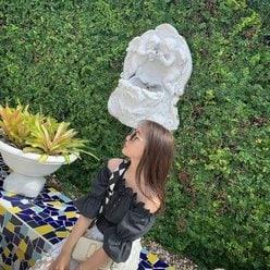 NMB48山本彩加「夏らしさ全開の肩出し!」ファッションでファンを魅了!の画像