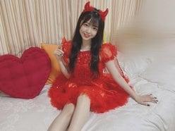 NMB48貞野遥香「おねだり小悪魔」コスプレ姿の美脚にドキッ!の画像