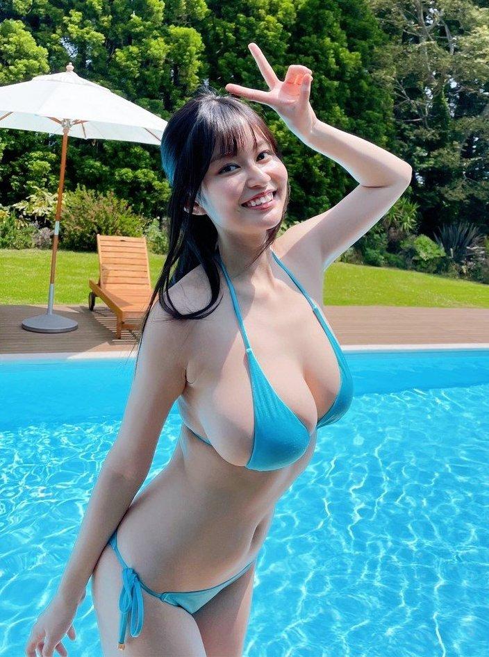 """""""童顔Hカップ""""未梨一花「進化するグラマラスボディ」デビュー2周年を祝福の画像"""