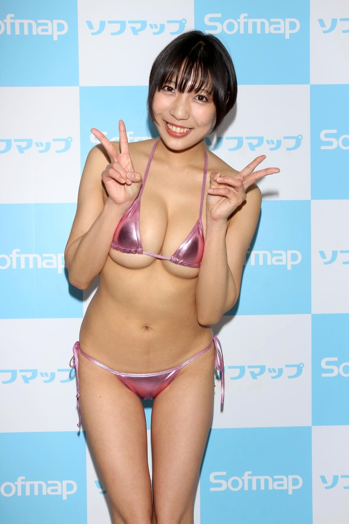 麻倉まりなのグラビア水着ビキニ画像017