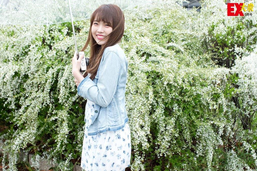 NMB48植村梓、未公開グラビア【EX大衆5月号】の画像005