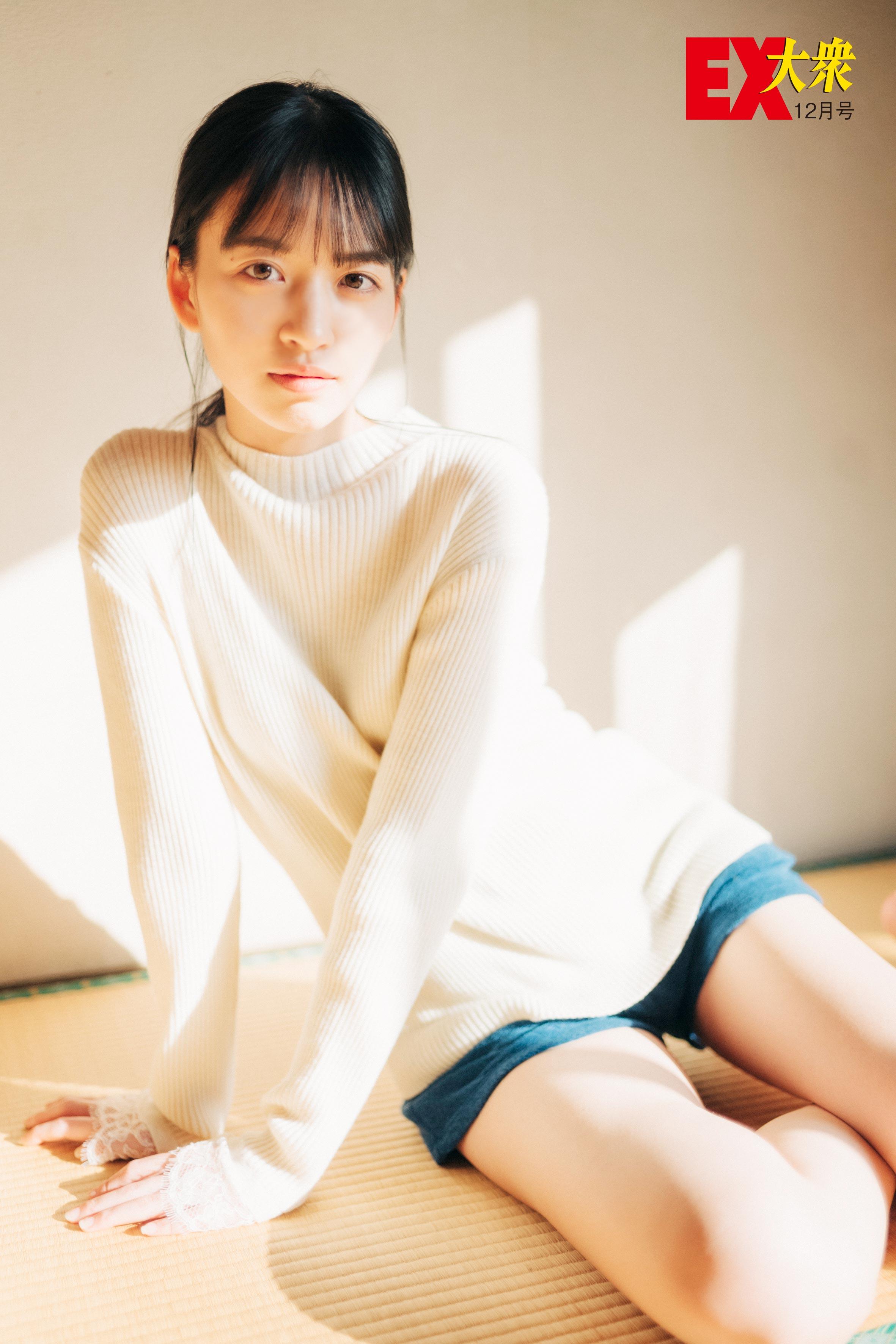 乃木坂46金川紗耶の本誌未掲載カット5枚を大公開!【EX大衆12月号】の画像001