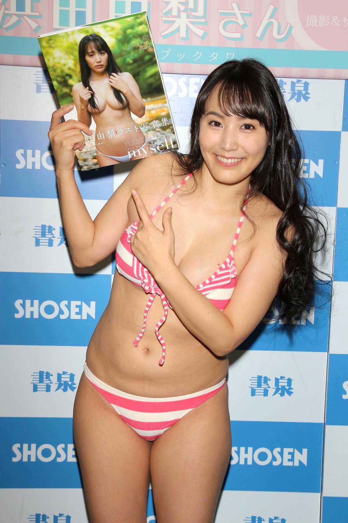 浜田由梨のグラビア水着ビキニ画像042