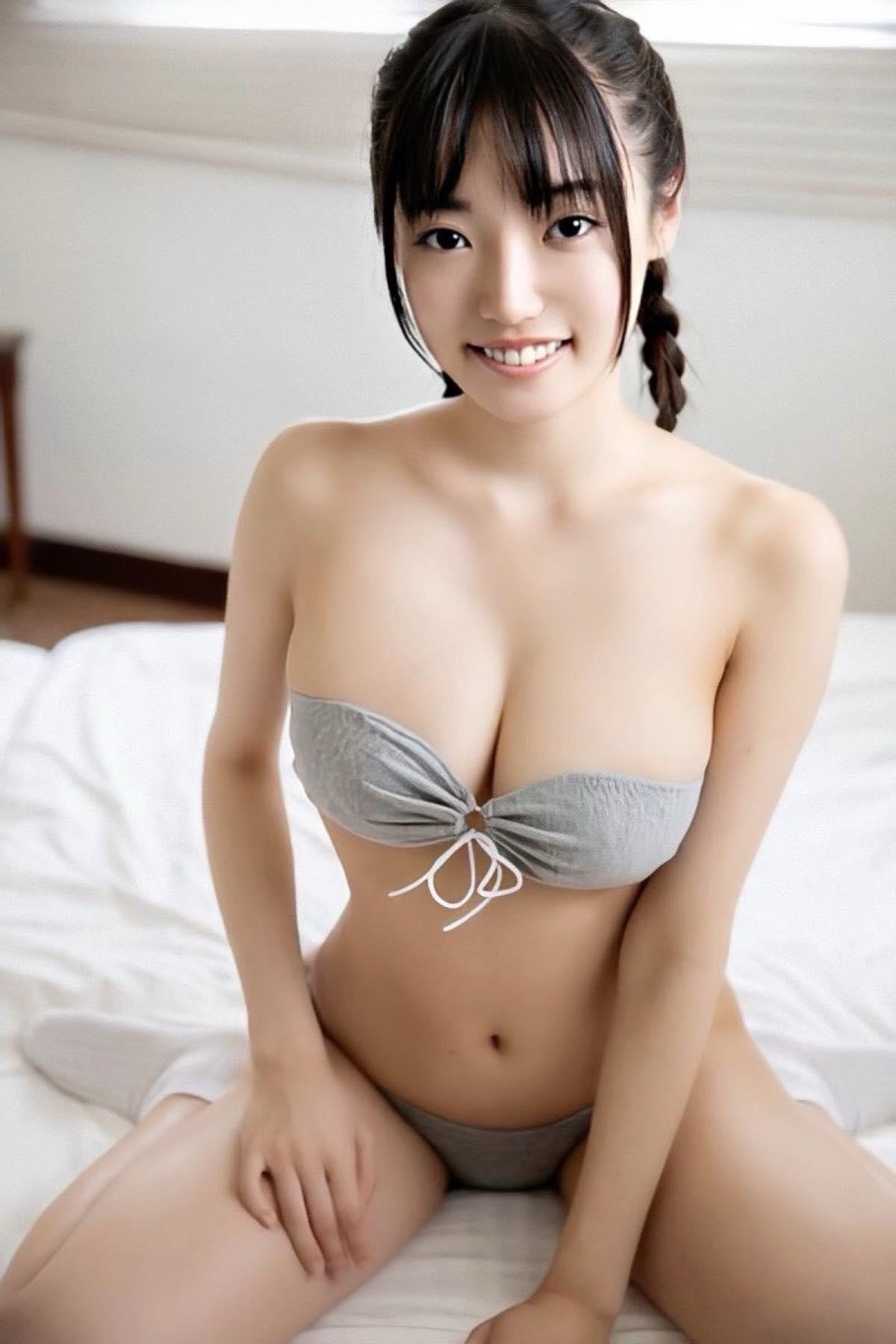 桜田愛音のグラビア水着ビキニ画像0002