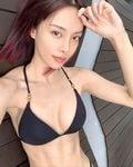 キャスリン・リー「マレーシアの美ボディセレブ!」ロングヘアとボブ…どっちが好み?【画像2枚】の画像001