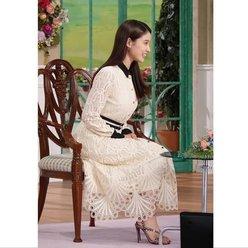 土屋太鳳「美スタイル際立つ白ワンピ」『徹子の部屋』出演の心情を語る【画像5枚】の画像