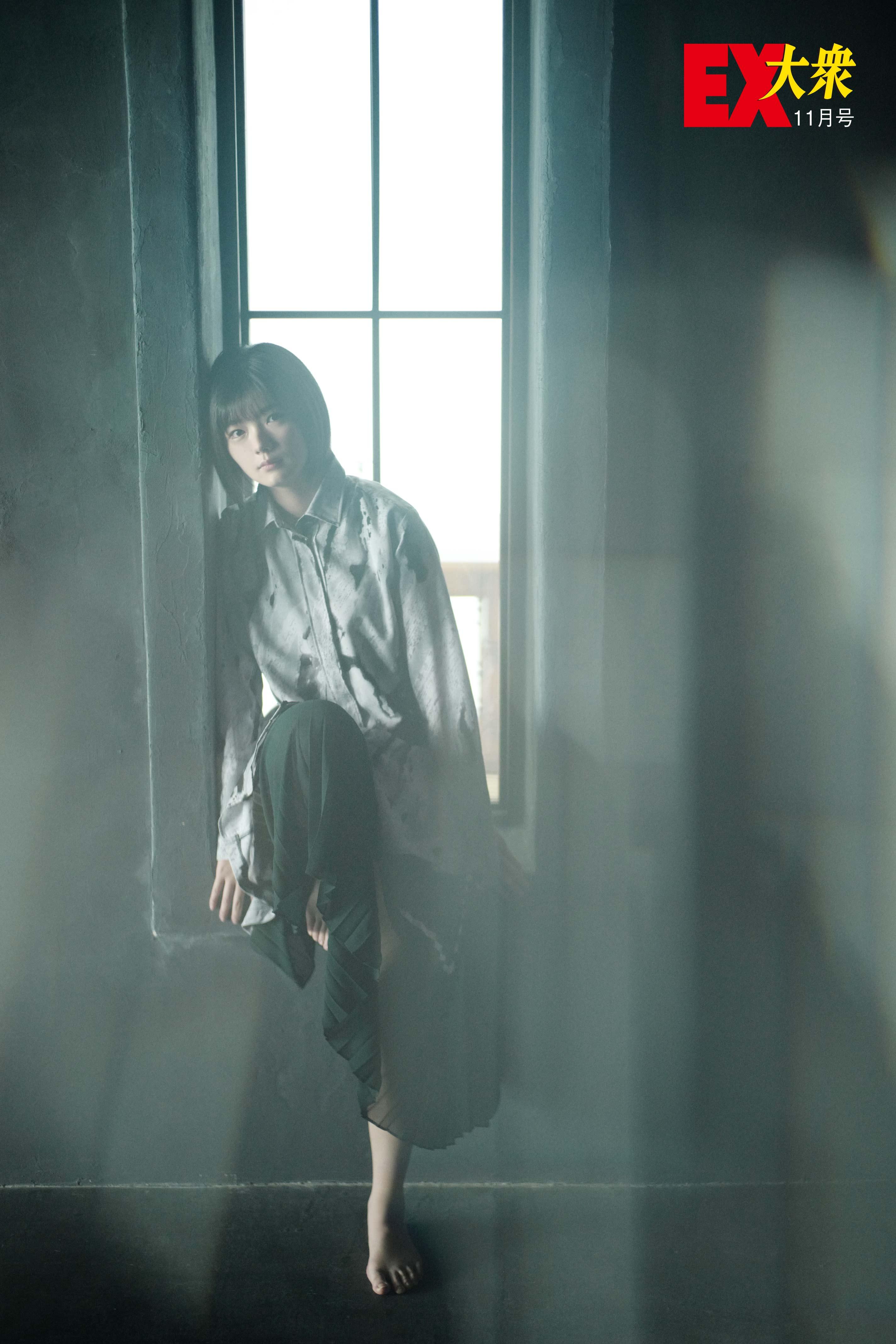 欅坂46藤吉夏鈴の本誌未掲載カット4枚を大公開!【EX大衆11月号】の画像004