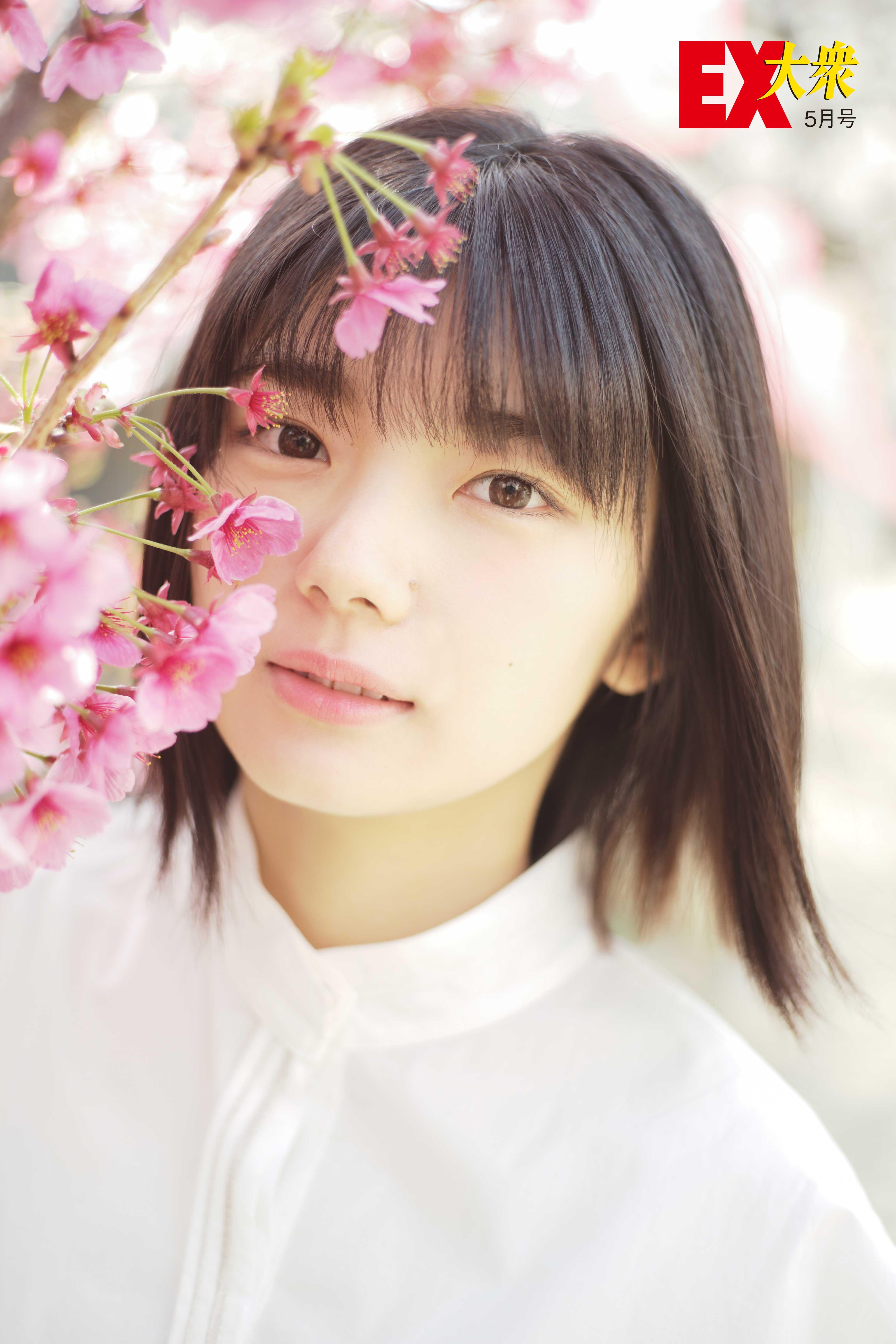 欅坂46藤吉夏鈴の本誌未掲載カット3枚を大公開!【EX大衆5月号】の画像001