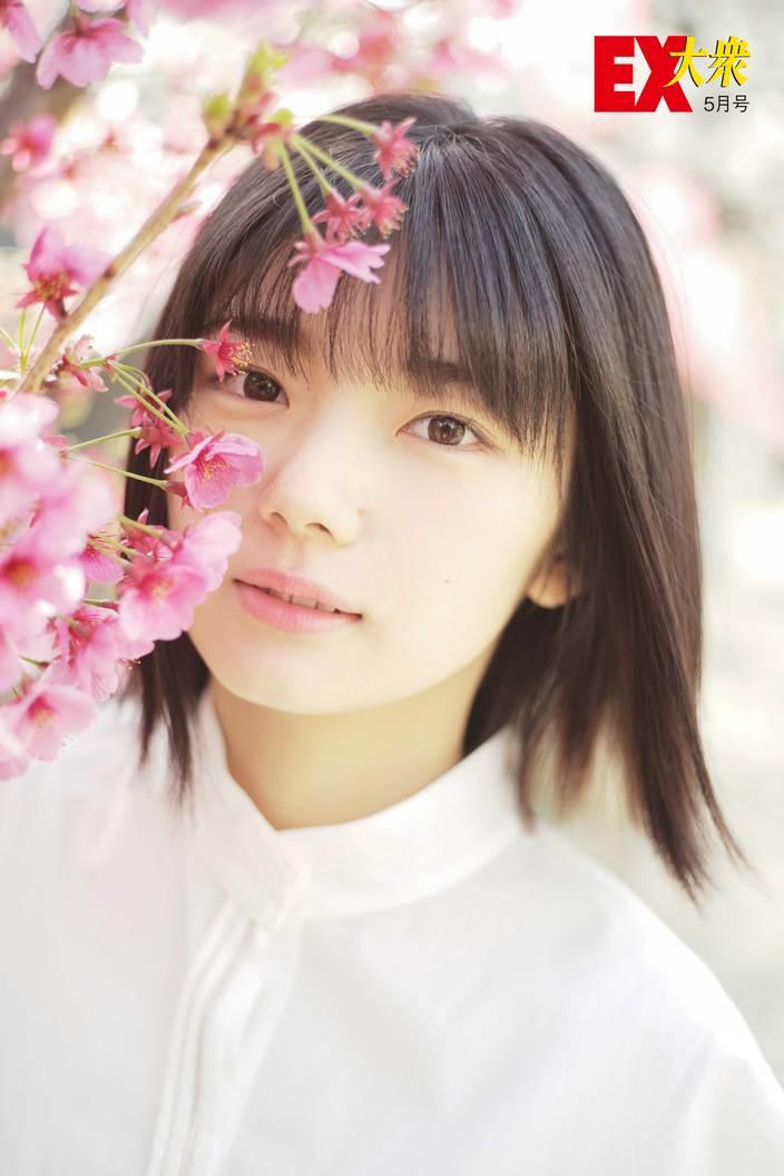 欅坂46藤吉夏鈴の本誌未掲載カット3枚を大公開!【EX大衆5月号】の画像