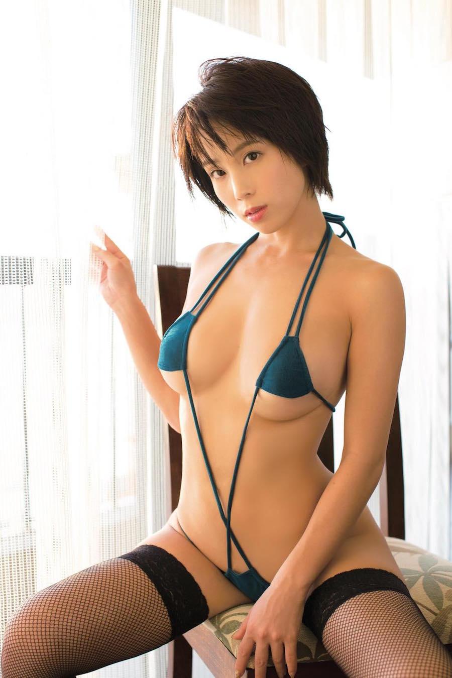 犬童美乃梨「吸い付くような柔らかバスト」ストイックな美ボディの画像011