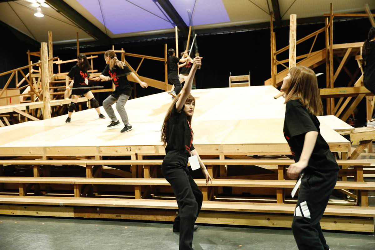 AKB48グループメンバーが『仁義なき戰い』上演に向けて猛特訓中!【写真13枚】の画像011
