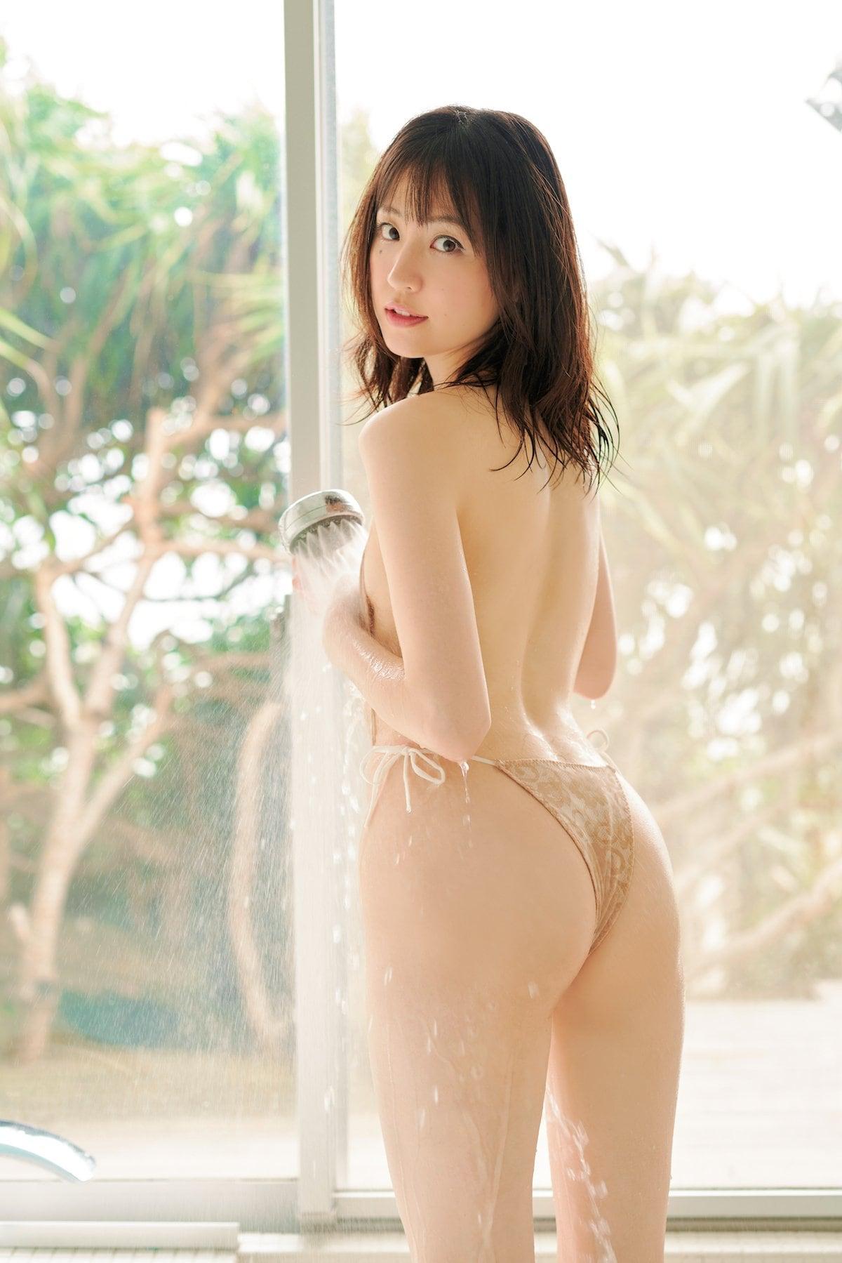 船岡咲「元ジュニアモデル」スレンダー美女のぷりぷり尻【画像10枚】の画像007