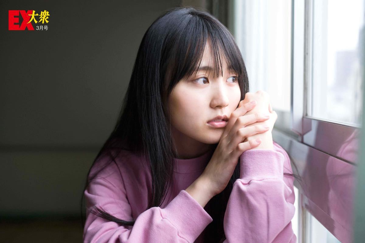 乃木坂46賀喜遥香の本誌未掲載カット1