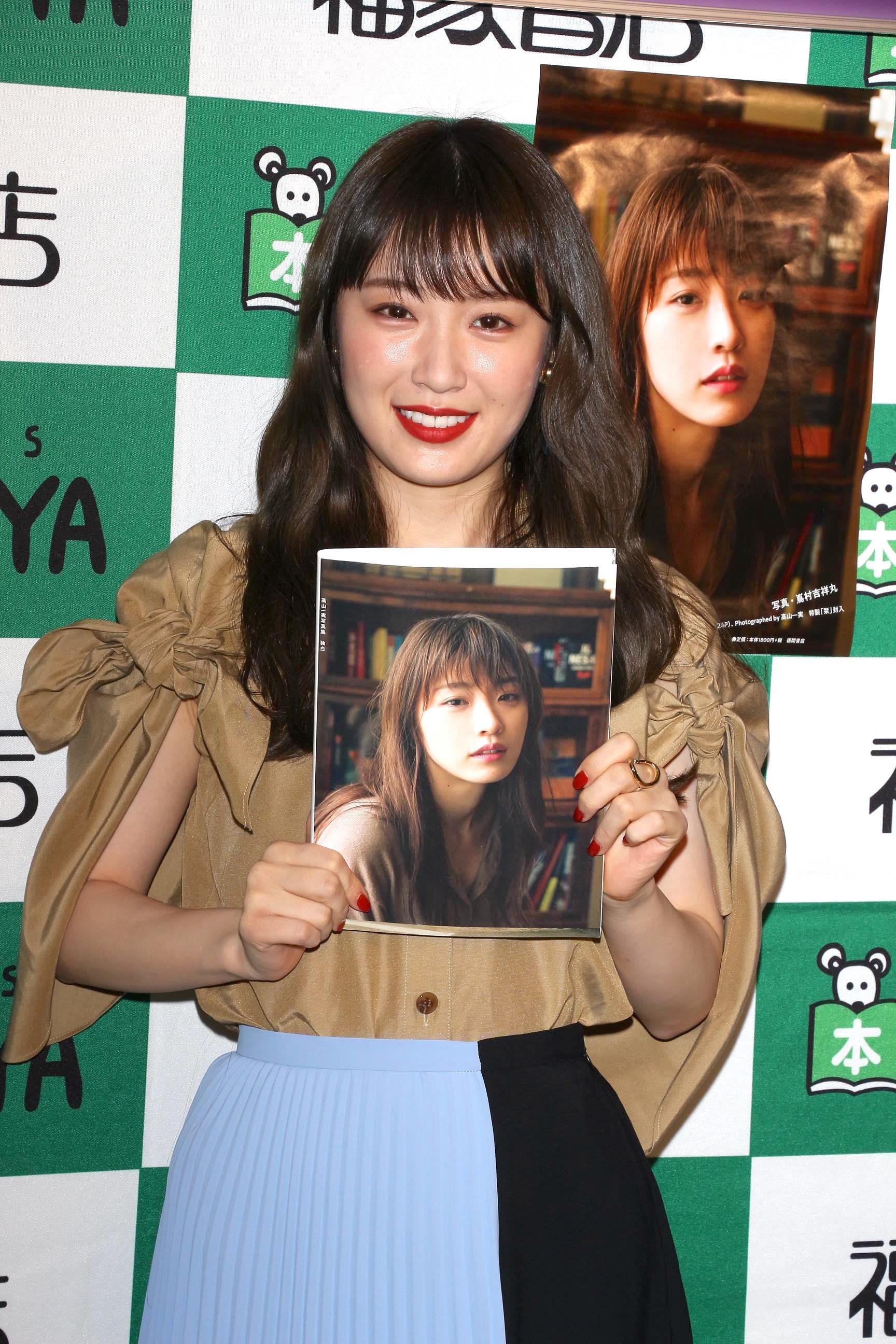 乃木坂46高山一実「昔から好きな言葉」と、抱負を語る。『独白』インタビュー(4/5)の画像003