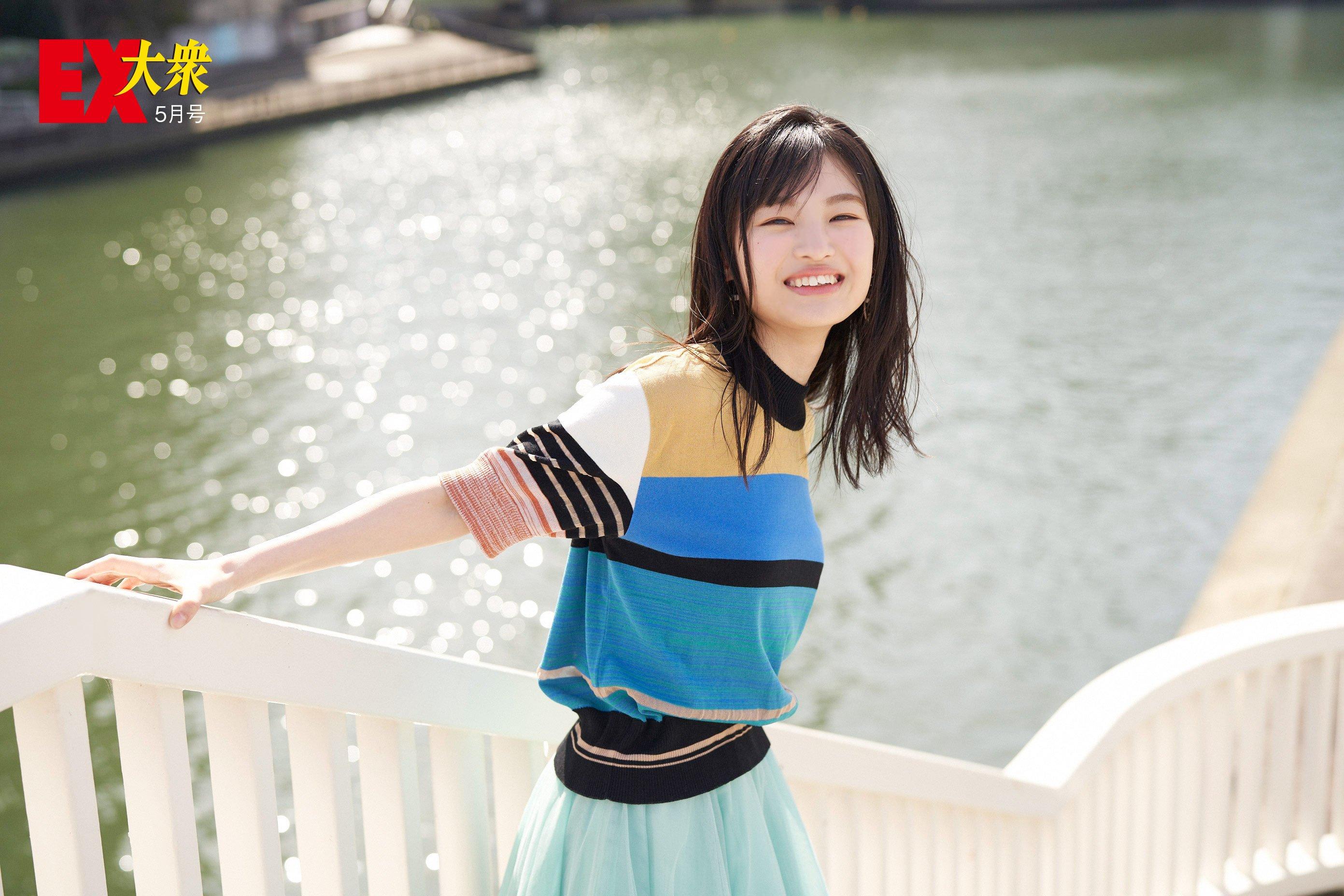 NMB48新澤菜央の本誌未掲載カット001