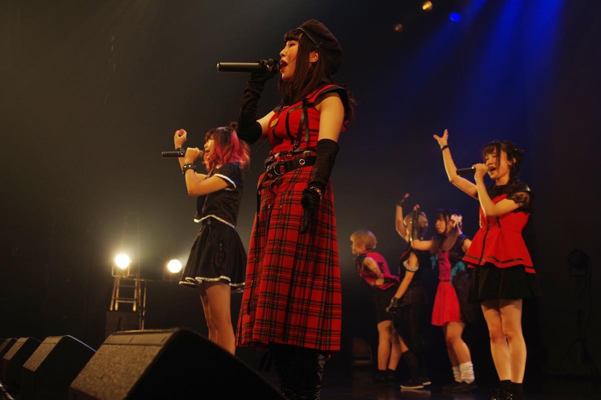 """めろん畑 a go go""""ロッキンなマスクアイドル""""が、新たな仲間とワンマンライブを開催!【写真22枚】の画像021"""