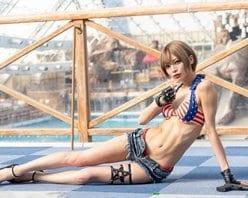 8頭身アイドル・米倉みゆ「バキバキの神ウエスト」アスリートばりの肉体がバズりまくりの画像