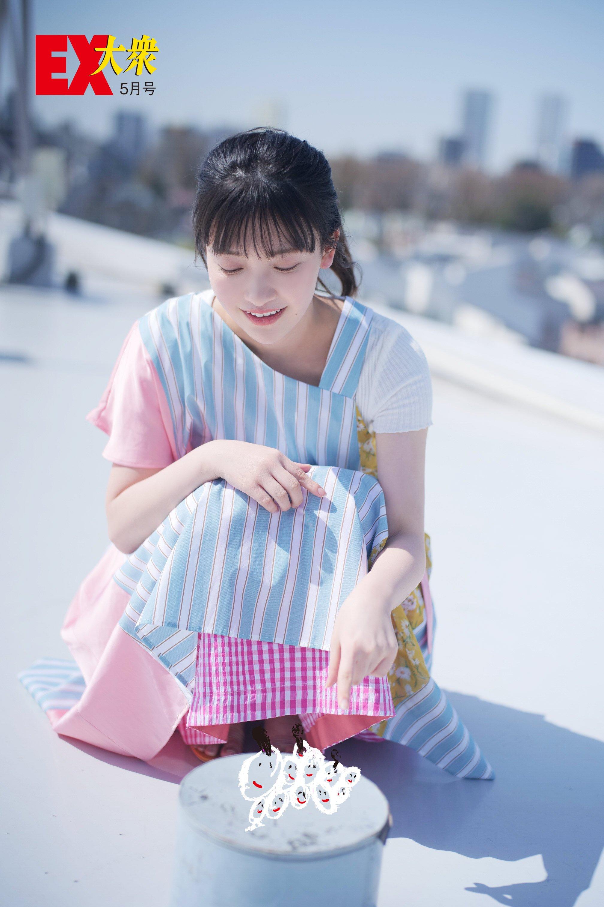 櫻坂46大沼晶保の本誌未掲載カット4枚を大公開!【EX大衆5月号】の画像004