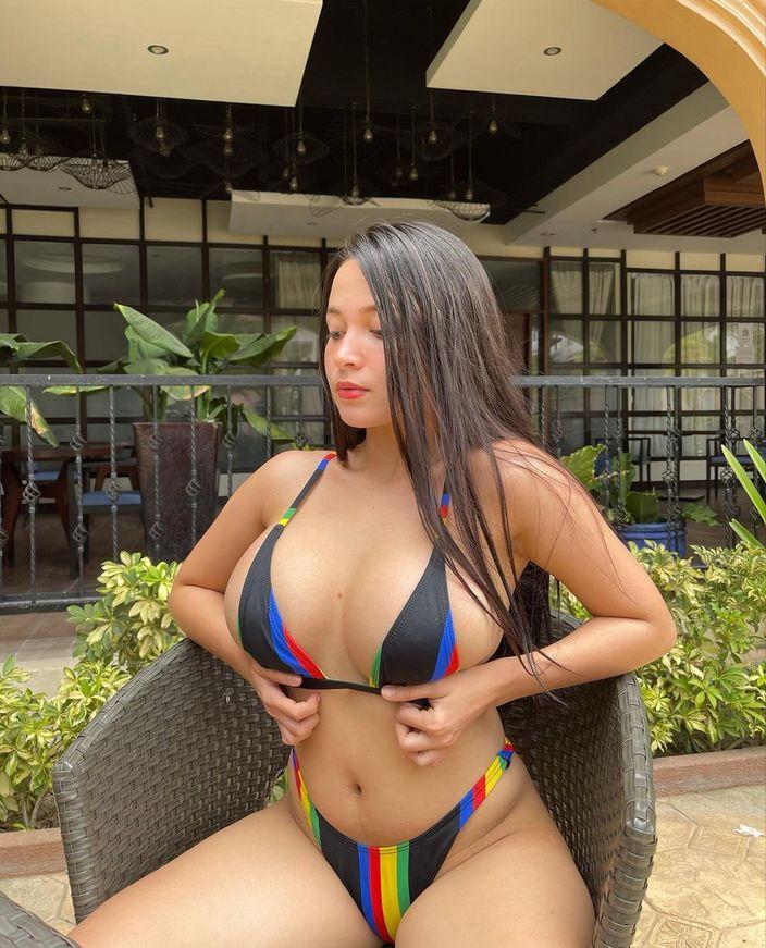 パンドラ・カーキ「フィリピン美乳の最高峰!」ビキニに収まり切らない迫力ボディ【画像3枚】の画像