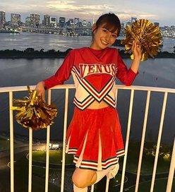 ほのか「おへそがキュート!」日本中に元気をくれるチアガール【画像4枚】の画像