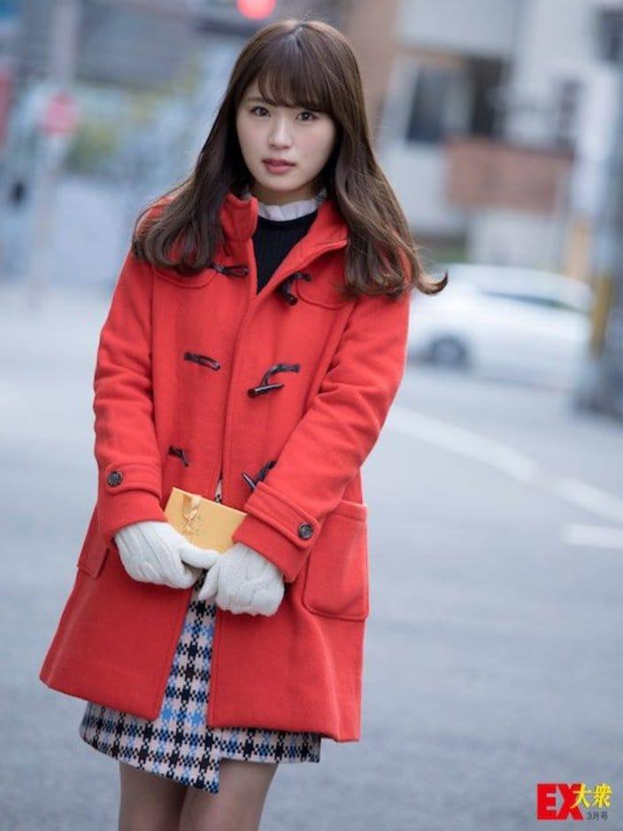 NMB48渋谷凪咲、未公開グラビア【EX大衆3月号】