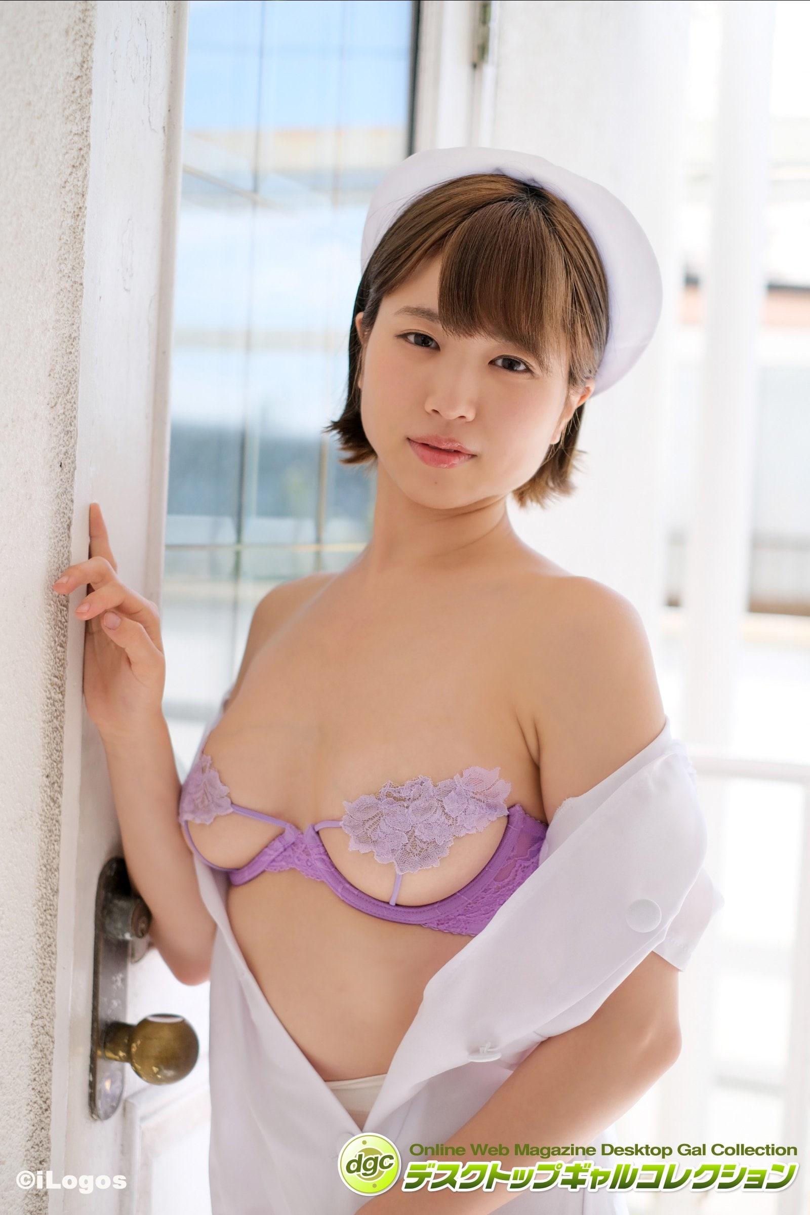 鈴原りこ「えっちな看護師さん」セクシー下着で誘惑しちゃう!【画像5枚】の画像001