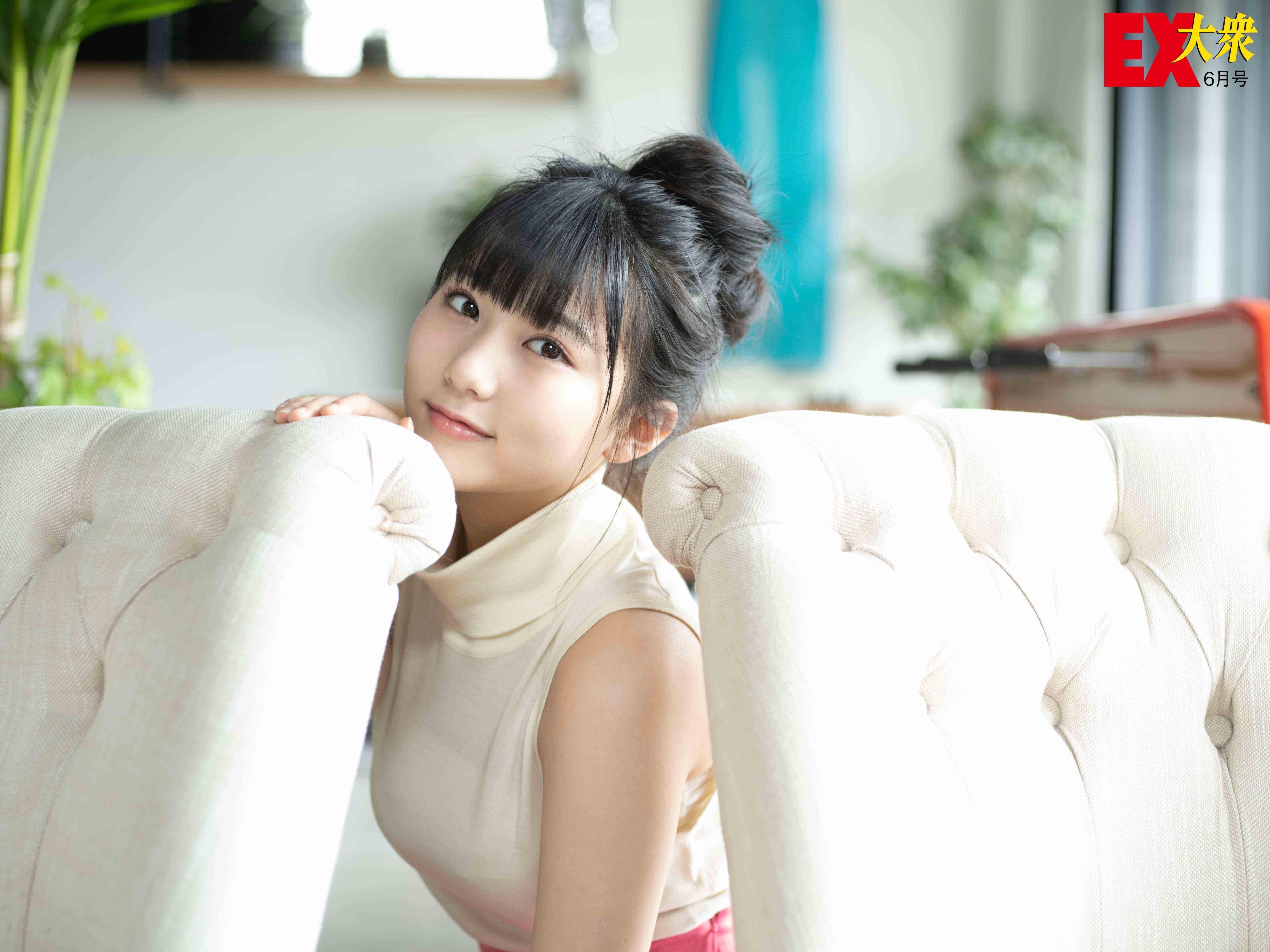 HKT48田中美久の本誌未掲載カット8枚を大公開!【EX大衆6月号】の画像001
