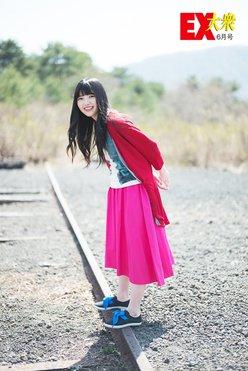 欅坂46上村莉菜、未公開グラビア【EX大衆6月号】の画像
